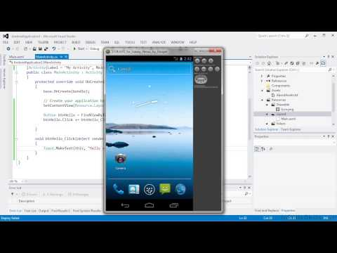 Android App Creation with C# Tutorial   Deploying To A Device