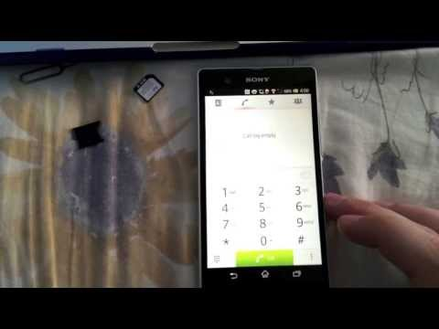 How to Unlock Sony Xperia Z from Bell Mobility By unlock code, from cellunlocker.net