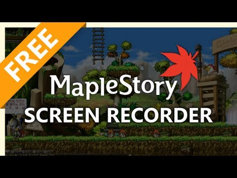How To Make a MapleStory Gameplay Video