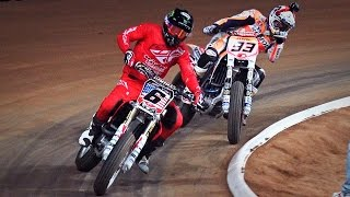 SuperFinal Baker vs Marquez | III Superprestigio Dirt Track Barcelona 2015(UHD/4K)