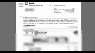 Check Out My Td Bank Backoffice