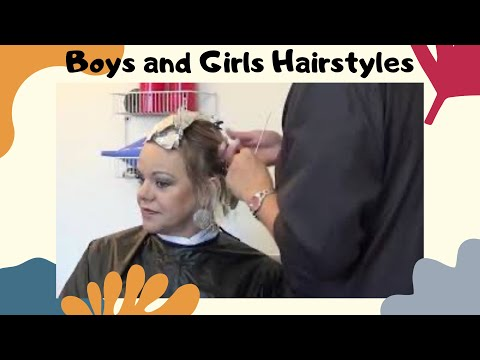 How to Cut Short Hairstyles and (Hair Coloring Tutorial)