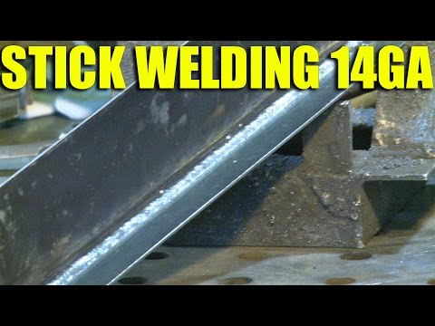 🔥 Stick Welding Sheet Metal (Viewer Request)