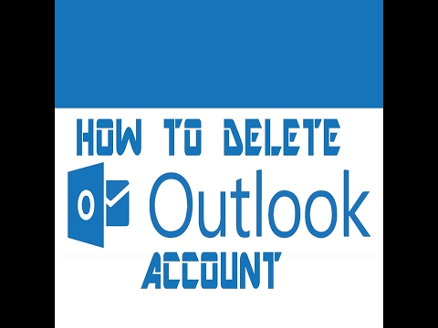 Remove outlook 365/2016/2013/2010/07 account permanently windows 10