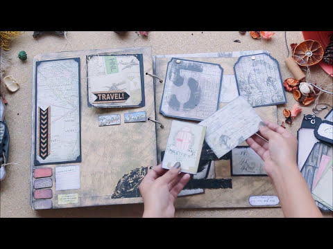 VINTAGE SCRAPBOOK | HANDMADE | DIY ANNIVERSARY