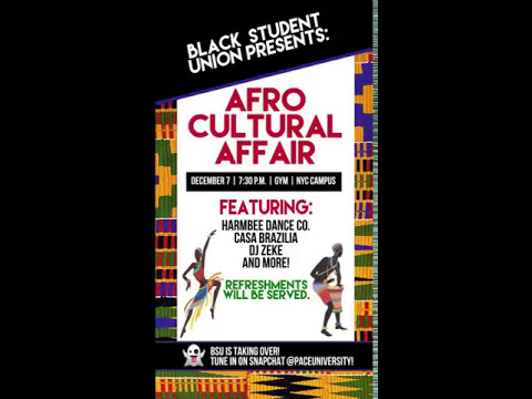 Snapchat Takeover: BSU's Afro Cultural Affair