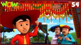 New Cartoon Show | Chacha Bhatija | Wow Kidz | Hindi Cartoons For Kids | Mimicry Ka Dhabe