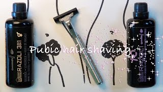 Tutorial How To Shave Your Pubic Hair A How To Guide And Interesting