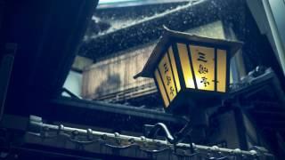 Japanese Flute - Shakuhachi with Rain