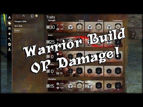 Guild Wars 2 - Warrior Damage Spec / Build (Welcome back to 302515)