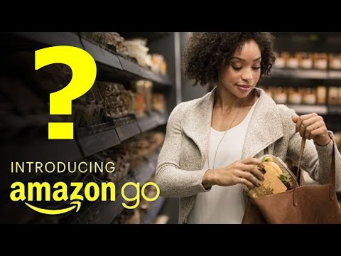 AMAZON GO- A Supermarket with NO QUEUES OR CASHIERS?!