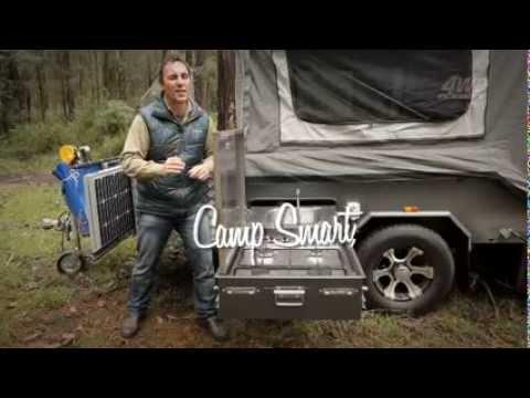 Hard floor camper - Cooper SY4i - Ezytrail offroad camper trailer