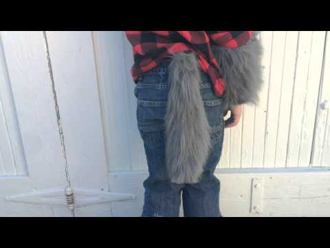 Simple Electronic Werewolf Animatronic Tail Prop Wagging