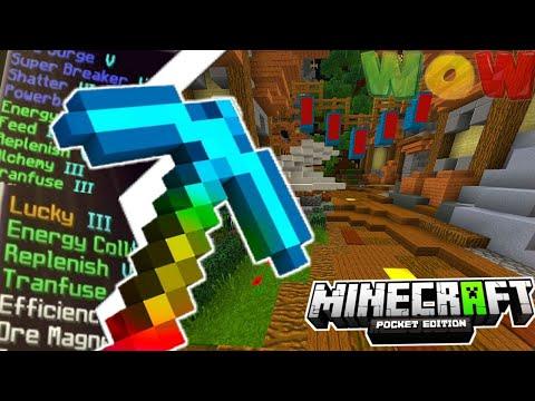 MCPE PRISON EP04 - WE GOT THE GOD PICKAXE!! - Minecraft PE (Pocket Edition)