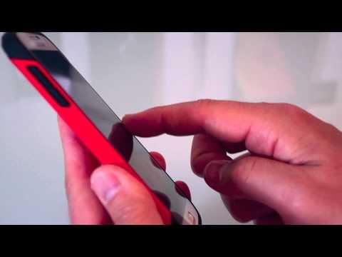 SPIGEN Slim Armor Case for Samsung Galaxy S 4 (Red)