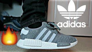 new product 79542 390ad Adidas NMD R1 glitch camo grey! (Adidas outlets) + on feet