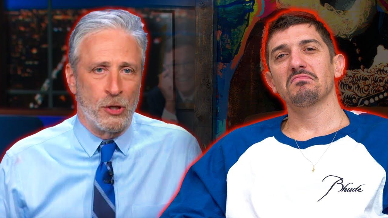 Schulz reacts: Jon Stewart EMBARRASSES Stephen Colbert on Lab Leak Theory | Flagrant 2