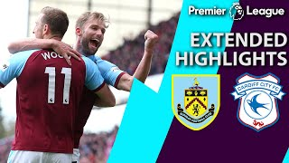 Download Burnley v. Cardiff City | PREMIER LEAGUE EXTENDED HIGHLIGHTS | 4/13/19 | NBC Sports Video