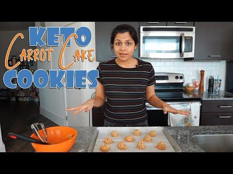 Keto Carrot Cake Cookies Recipe