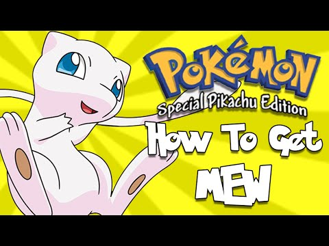 How To Get Mew - Pokemon Yellow (3DS)