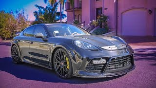 FIRST DRIVE IN THE INSANE MANSORY 970 PANAMERA TURBO! (Review)