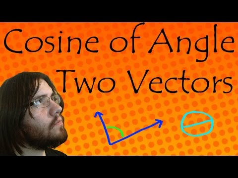 Find The Cosine of the Angle Between Two Vectors