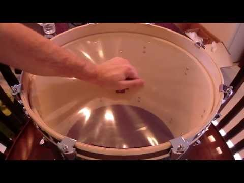 DRUM TUNING VIDEO  ** THE SIMPLE & EFFECTIVE PROCESS