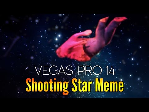 Vegas Pro 14: How To Make The Shooting Stars Meme - Tutorial #194