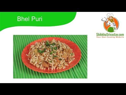 Bhel Puri Recipe in Hindi Mumbai Style भेलपुरी बनाने की विधि - How to Make Bhel Puri at Home