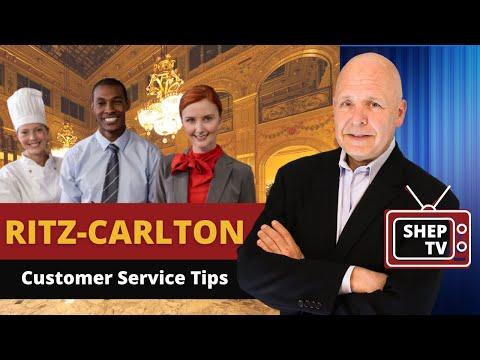 Ritz Carlton Customer Service Tips
