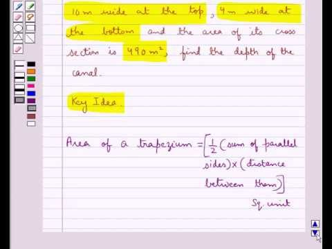 Example: Finding Altitude of Trapezium