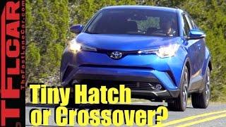 2018 Toyota C-HR Sneak Peek: Newest Tiny 4-Door is Here!