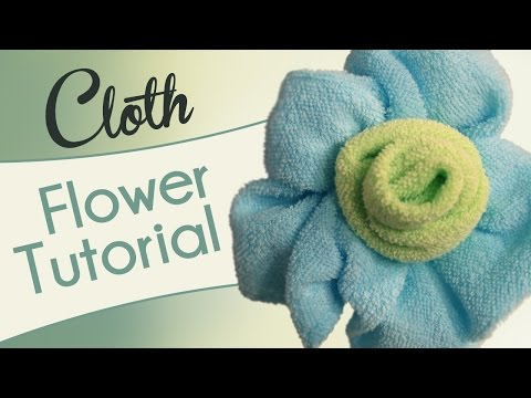Make A Cloth Flower