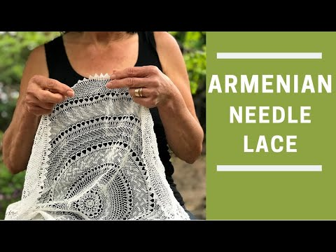 How to do Needle Lace (Part 8/8)