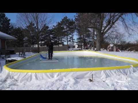 Three tips for keeping your backyard rink smooth all winter long