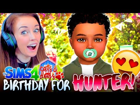 ⛺️CAMPING BIRTHDAY + NEW ROMANCE...?💕(The Sims 4 CATS & DOGS #22 🏖)