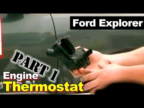 2002 Ford Explorer Thermostat Housing Coolant Leak Part 1