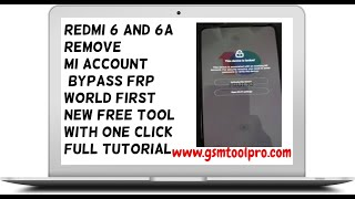 mi redmi 6 and 6a mi account+frp remove done without any