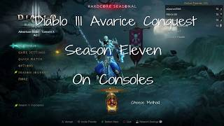 101 Horadric Cache Opening + Avarice Conquest Completed - Diablo 3