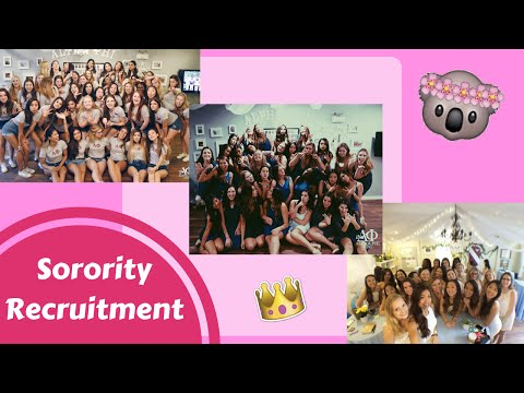 Sorority Recruitment