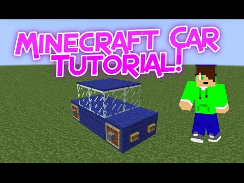 Minecraft how to make a car and four wheel drive