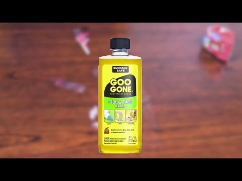 Remove Sticky Tape Residue with Goo Gone Glue and Tape Remover
