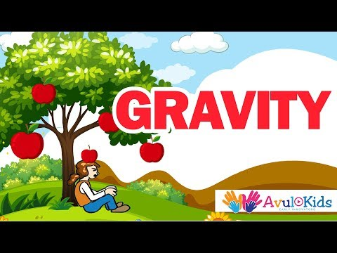Gravity| Kids educational video| What is gravity
