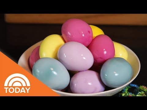 How To Make Colorful Easter Eggs With Natural Ingredients   TODAY