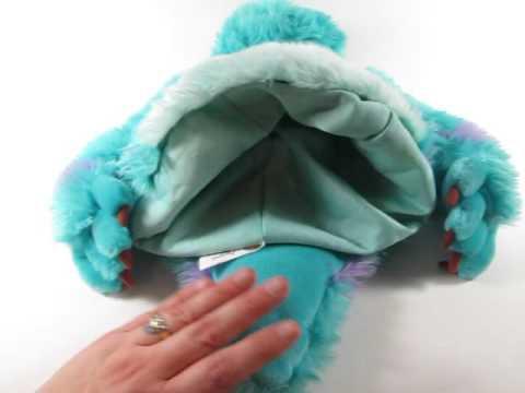 Disney Parks Sulley Adult Hat Cap Monsters Inc Plush For Sale