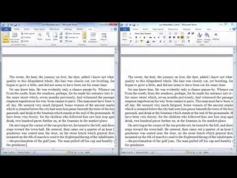 View Two Documents Side-by-Side in Word