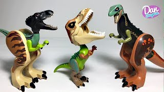 LEGO HYBRID DINOSAURS TOYS JURASSIC WORLD FALLEN KINGDOM Indoraptor, T-Rex, Carnotaurus & more!