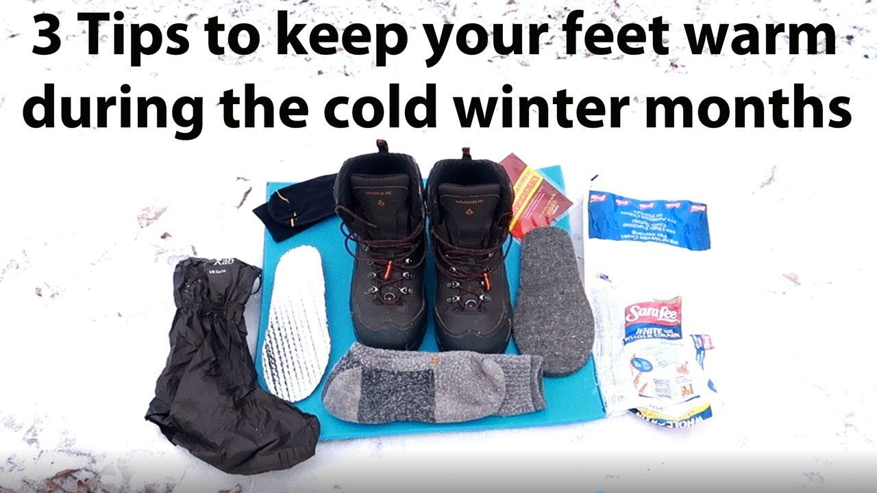 3 tips to help you keep your feet warm in the cold winter months