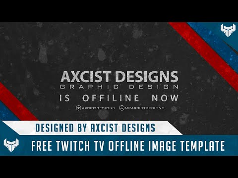 Free Twitch Offline Image Template Afk Brb Template Psd Free Gfx