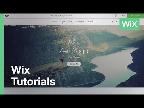Wix.com | Anchors